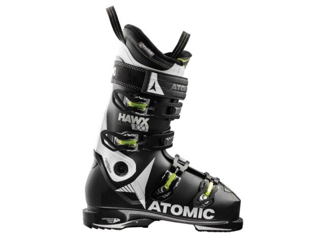 Atomic Hawx Ultra 100 Ski Boots 2018 Size: 26 / 26.5 300mm Black Green