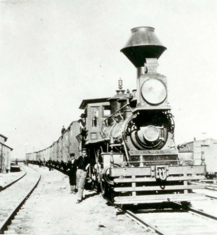 IMMIGRANT TRAIN 1869 OR 1870