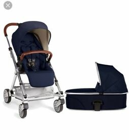 Mamas and papas urbo 2 with carrycot, footmuff, raincover and car seat adaptors