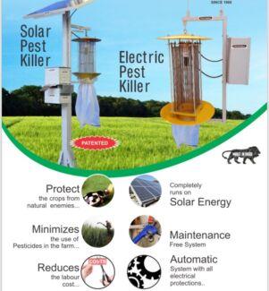 Solar pest controller