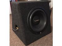 "Rockford Fosgate Prime R1 10"" Subwoofer (R1S4-10) & 500W Mono Amplifier (R500X1D)"