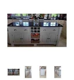 Kitchen island unit from £499