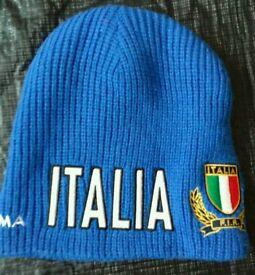Kappa Italian Cariparma Italian FIR blue hat in new condition.