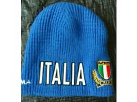 Kappa Italian Cariparma Italian FIR blue hat in new condition.