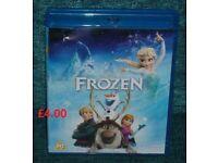 Disney Frozen Blu Ray Awesome Film