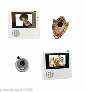 Telecamera spioncino digitale per porta blindata con - Spioncino porta con telecamera ...