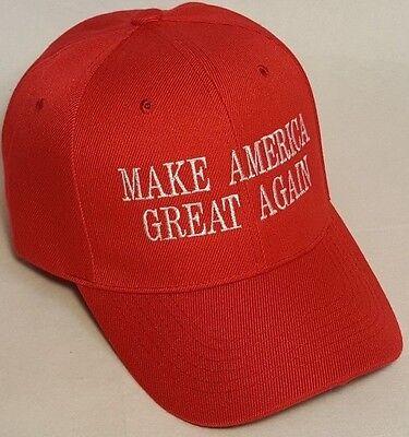 Make America Great Again - Donald Trump 2016 Hat Cap RED - Republican