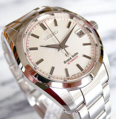 Grand Seiko Automatic SBGR071 Men's Wristwatch Date Steel 37MM MINTY