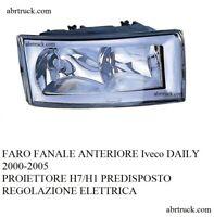 COPPIA FARI FANALI ANTERIORI IVECO DAILY DAL 2000/>AL 2006 H1-H7