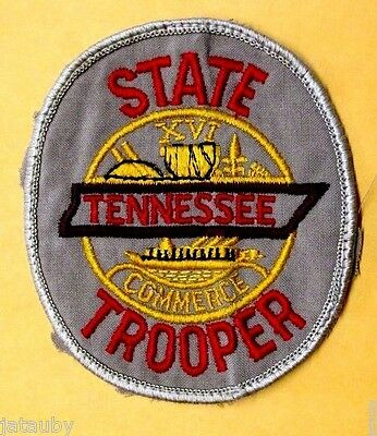 Vintage Obsolete Tennessee State Trooper Commerce Patch Collectible Only