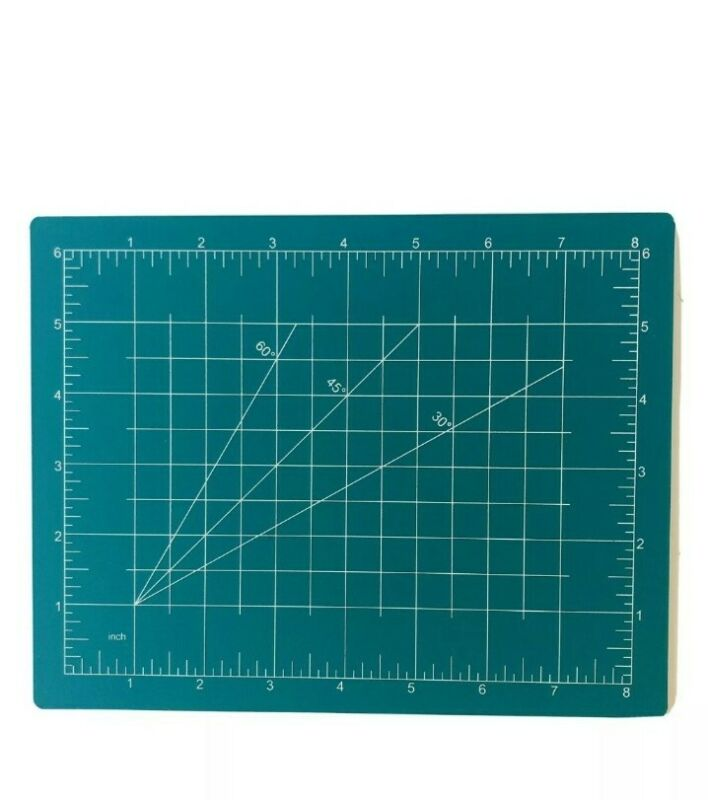 Cutting Mat Sewing and Crafts USA Measurements Art Hobby