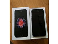 iPhone SE - 64GB - Space Grey - As new boxed