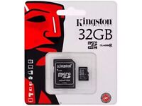 KINGSTON MICRO SD SDHC 32GB MEMORY CARD UHS-1 CLASS 10