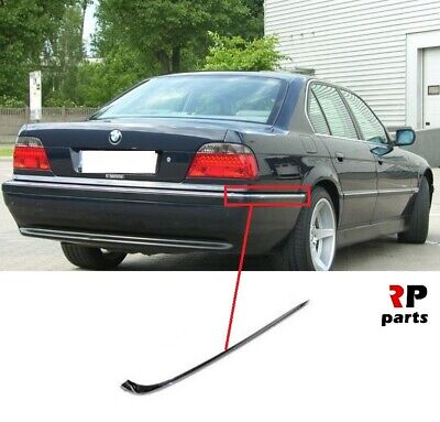 FOR BMW 7 SERIES 1994-2001 E38 NEW REAR BUMPER TRIM WITH PDC HOLES LEFT N//S