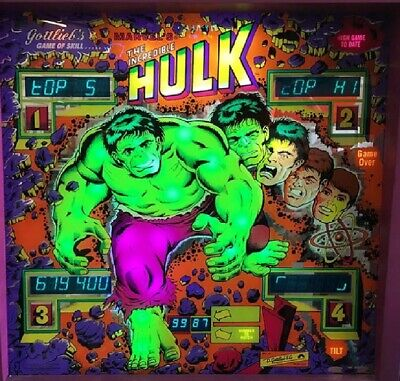 INCREDIBLE HULK Complete LED Lighting Kit custom SUPER BRIGHT PINBALL LED KIT