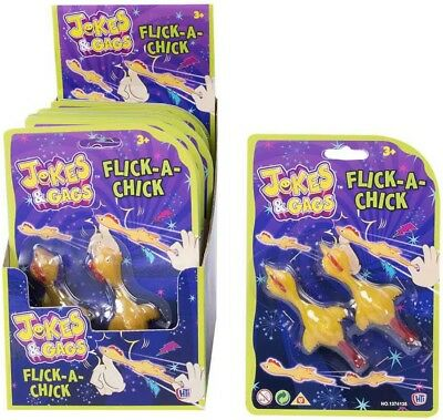 Flick a Chick toys from Jokes and Gags - Great fun for all inddors or outside - Jokes And Gags Toys