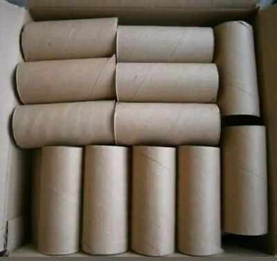 - 50 Empty Toilet Paper Rolls Tube Cardboard Cores Kids Crafts Art Supplies School