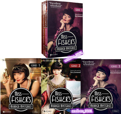 Miss Fisher's Murder Mysteries: The Complete Series 1-3 (DVD,11-Disc,Region 1)