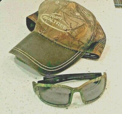 Team Realtree Camouflage Sunglasses and (Cap And Sunglasses)