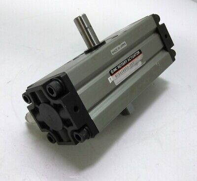 Smc Ncra1bw50-180 Pneumatic Rotary Actuator Dbl. Rod 50mm Bore 180degree Rot.