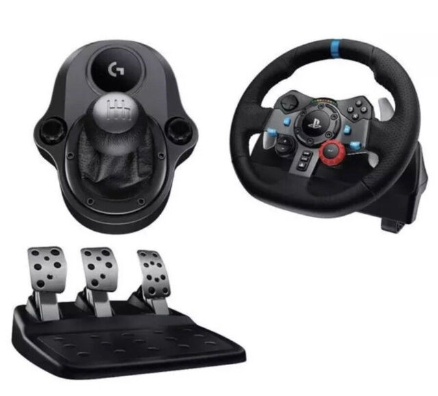 205f0736b3e Logitech G29 Steering wheel, pedal, gears, gaming chair & Gran Turismo