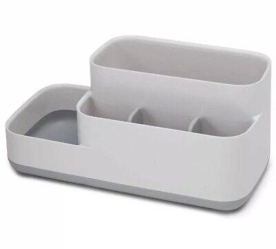 Joseph Bathroom Easy-Store Caddy- White/Grey  70513 New Other