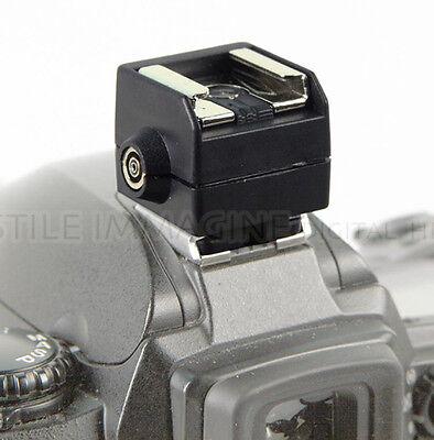 Adaptador Contacto Caliente Zapata Adaptador Seagull SC2 Metz Canon Nikon As 15