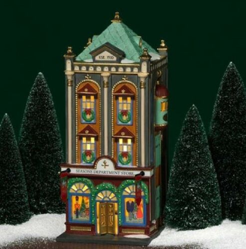 Department 56 Christmas in the City Seasons Department Store #56.59201 New