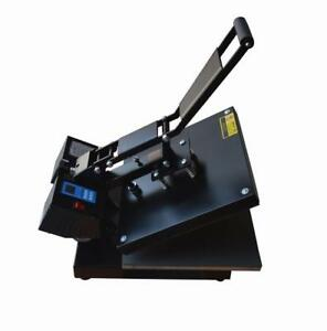 110V 15*15inch Flat Heat Press Transfer Machine T-shirts Printing#110200