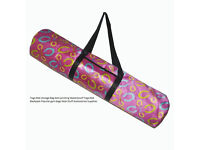 New, Waterproof yoga / gym mat carry bag. (no mat included!)