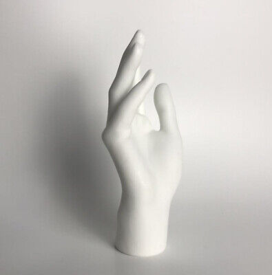 New 2019 Female Mannequin Hand Arm Display Base Gloves Jewelry Model White Right