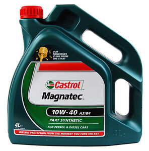 Castrol-Magnatec-10w40-Part-Synthetic-Car-Engine-Oil-4-Litre-4L-Diesel-Petrol