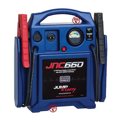Jump N Carry JNC660 1700 Peak Amp 12 Volt Jump Starter Battery Pack 425 CC