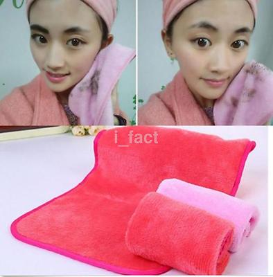 Reusable Makeup Remover Microfiber Facial Cloth Face Towel Cleansing Tool CA