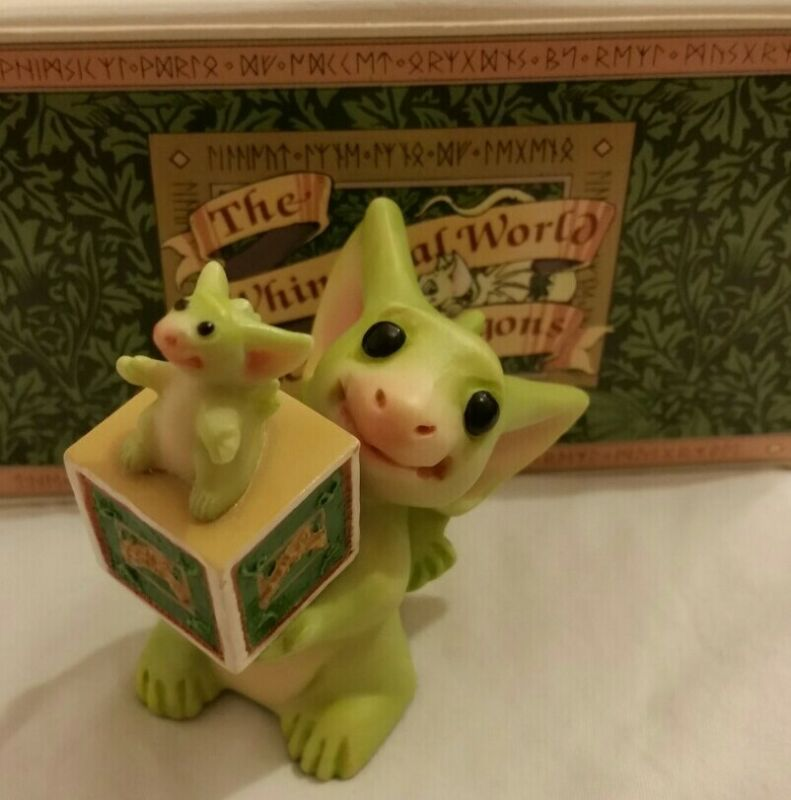 RRD 💖 Pocket Dragons Dragon * Mint * 🐛 Pocket Dragon Collector 🐛* 2002 *