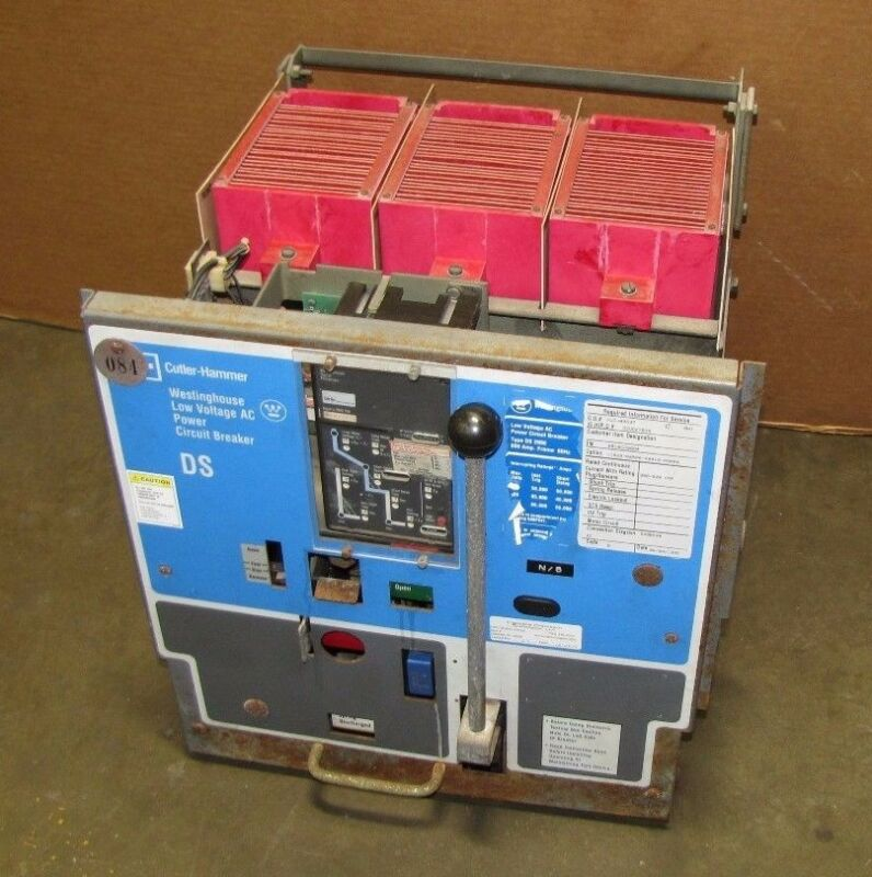 Westinghouse Cutler Ds 206e 6616c26g04 800a 800 A Amp Circuit Breaker W/ Trip