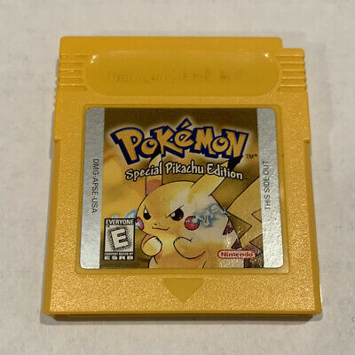 Pokemon Yellow Special Pikachu Edition Nintendo Gameboy 1999 Video Game Tested