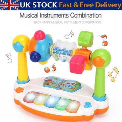 Baby Musical Learning Toy Learn Music Activity Center Game Toddler Toys Gifts