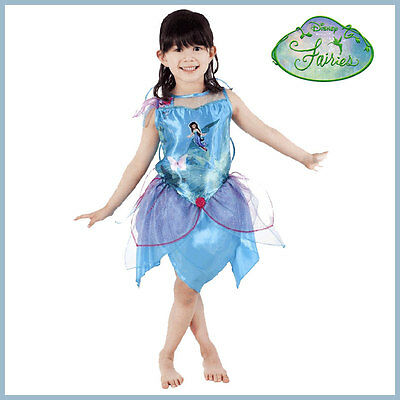 Silvermist Costume Pirate Fairy Tinkerbell Friend Ballerina w Wings 4-6 Girls](Silver Mist Fairy Costume)