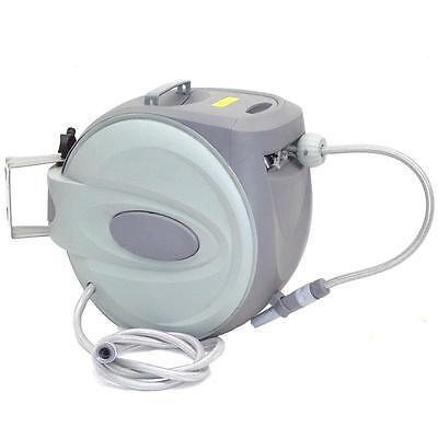05027 automatischer Schlauchaufroller 30m Wasserschlauch Schlauchtrommel Garten