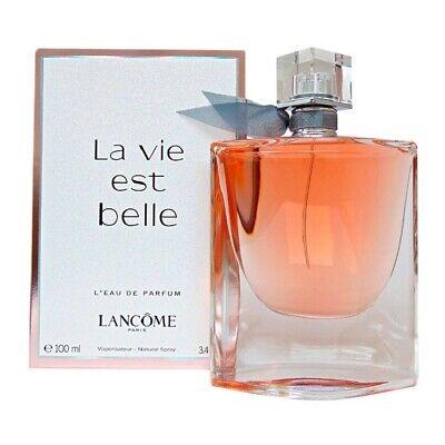 La Vie Est Belle By Lancome Women's 3.4 oz / 100 ml L'Eau de Parfum New & Sealed