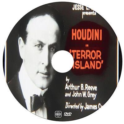 Terror Island - Harry Houdini, Jack Brammall - Mystery - 1920 - DVD