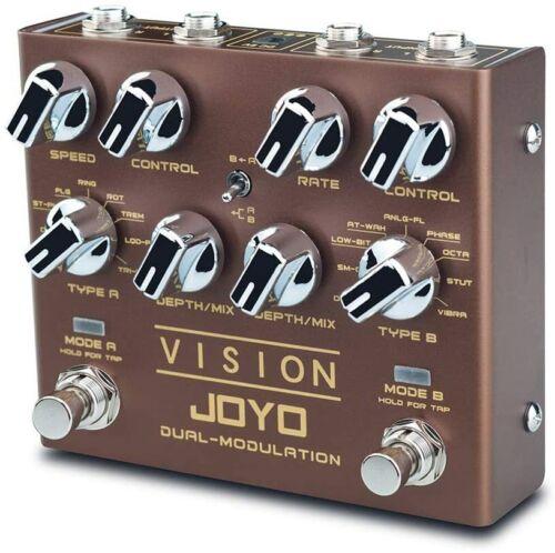 JOYO R-09 Vision Multi-effect Guitar Pedal Nine Effects Dual Channel Modulation