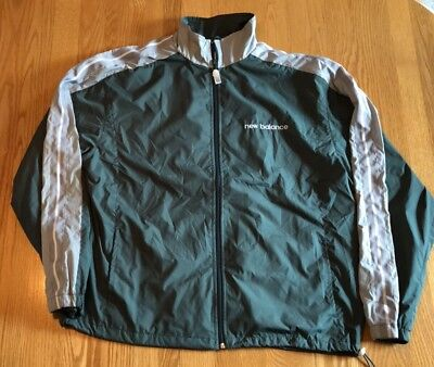 Coats & Jackets Vintage New Balance Color Block Windbreaker Jacket Mens Xl Zip Up Spell Out Men's Clothing