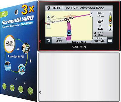 3x Clear LCD Screen Protector Guard Garmin Nuvi 2689 2689LM 2689LMT LM LMT GPS