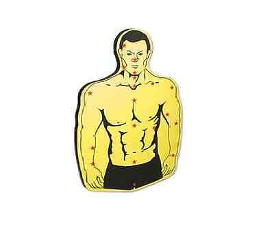 Torso Target Board target for throwing stars spikes knives darts martial arts