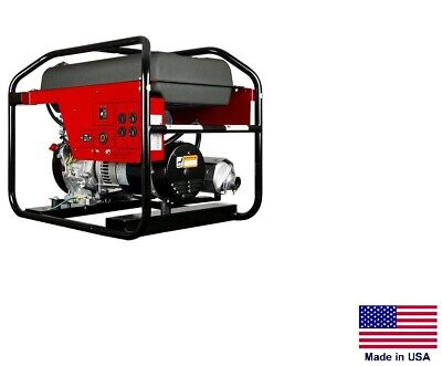 Portable Generator Commercial - 120240v - 1 Phase - 9 Hp Honda - 5000 Watt