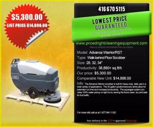 Nilfisk Advance Industrial Floor Scrubber - 34 Scrub Path!!!