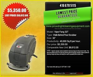 """Sweepers & Floor Scrubbers - Viper Fang 32"""" Floor Scrubber - PRICED RIGHT!"""