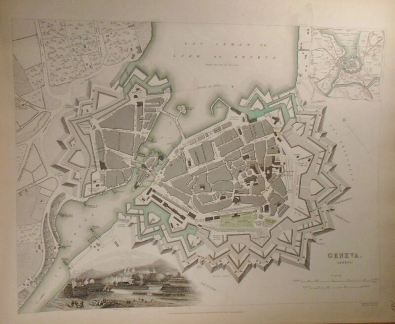 1841 Map of Geneva Baldwin & Gradoc